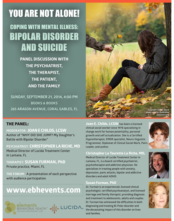 Coping with MentalIllness – Live Stream Panel Discussion Sept. 21
