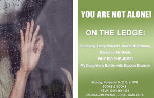 RSVP Today – ON THE LEDGE: Surviving Every Parent's Worst Nightmare