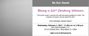 Your Invited!!  21st Century Women Luncheon – SPACES LIMITED!!
