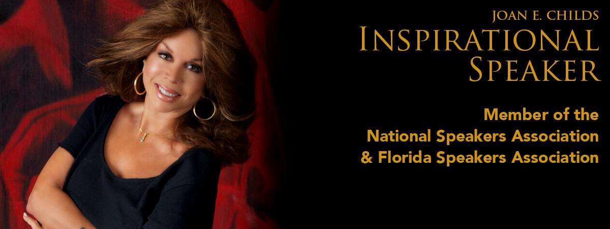 Joan E. Childs - Inspirational Keynote Speaker